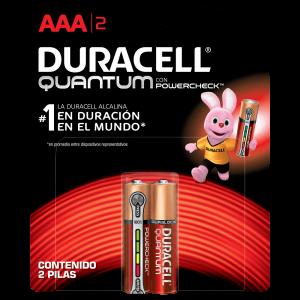 Pilha Alcalina Duracell AAA Quantum