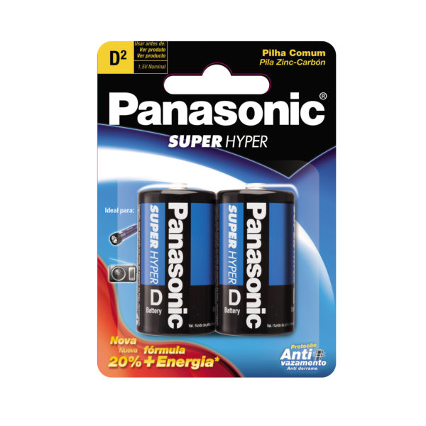 Pilha Panasonic Grande