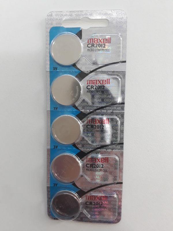 Bateria Moeda Maxell CR2012 3V