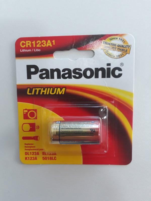 Bateria de Lithium Litio Panasonic CR123A