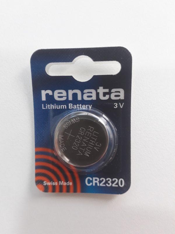 Bateria moeda CR2320 marca Renata