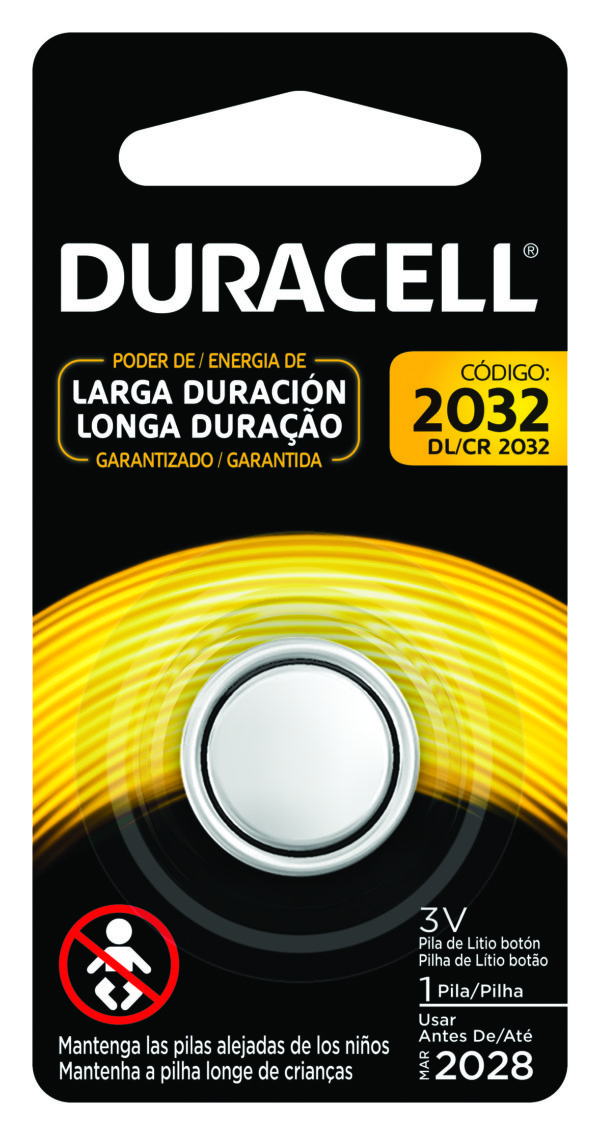 Bateria Duracell 3V Lithium 2032